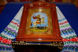 Божественная Литургия в храме Рождества Пресвятой Богородицыд.Лахва - Храм в честь Рождества Богородицы д.Лахва